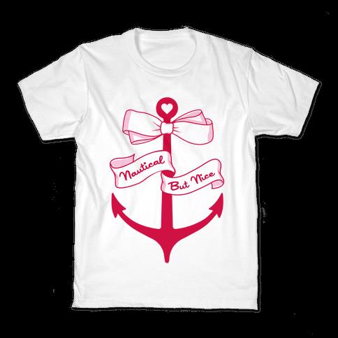 Nautical But Nice Kids T-Shirt