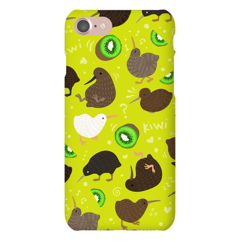 Kiwi Pattern Phone Case