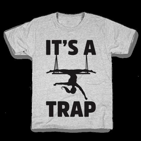 It's A Trap Kids T-Shirt