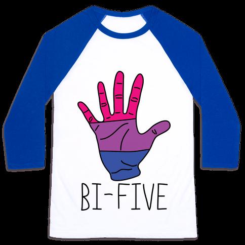 Bi-Five Baseball Tee
