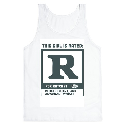 Rated R for Ratchet (alternate) Tank Top