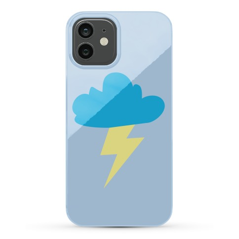 Lightning and Cloud Phone Case