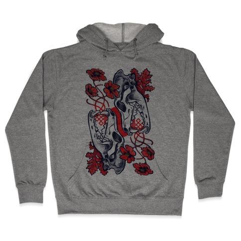 Sleep And The Coyote Hooded Sweatshirt