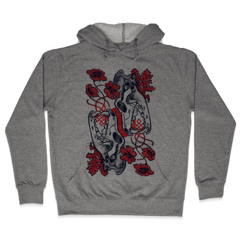 Sleep And The Coyote Hooded Sweatshirt