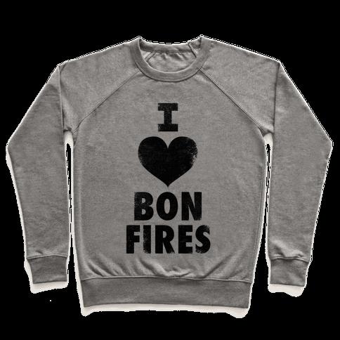 I Heart Bonfires Pullover