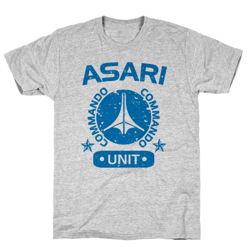 Asari Commando Unit Mens T-Shirt