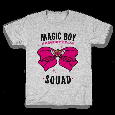 Magic Boy Squad (Pink) Kids T-Shirt