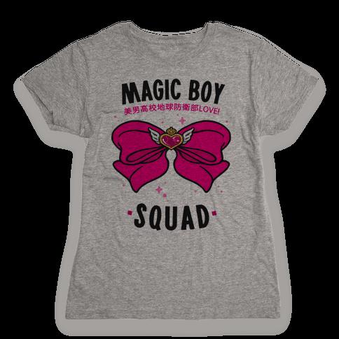 Magic Boy Squad (Pink) Womens T-Shirt