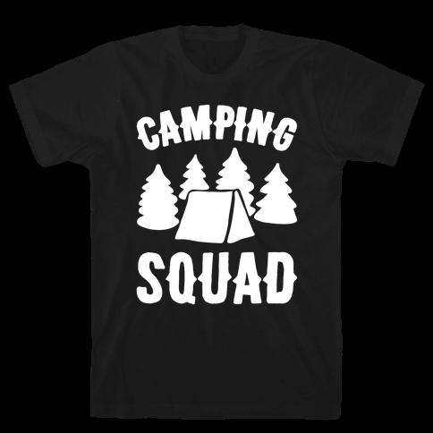Camping Squad Mens T-Shirt