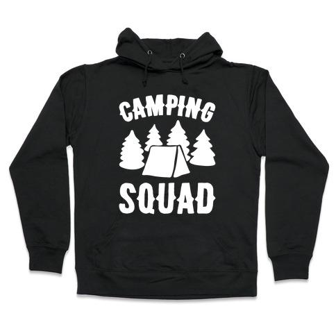 Camping Squad Hooded Sweatshirt