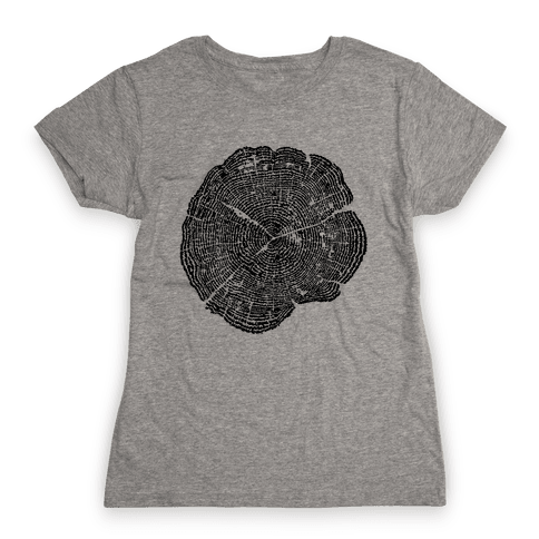 The Life Of Trees Womens T-Shirt