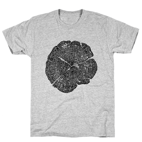 The Life Of Trees Mens T-Shirt