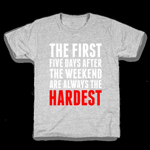 The First Five Days Kids T-Shirt