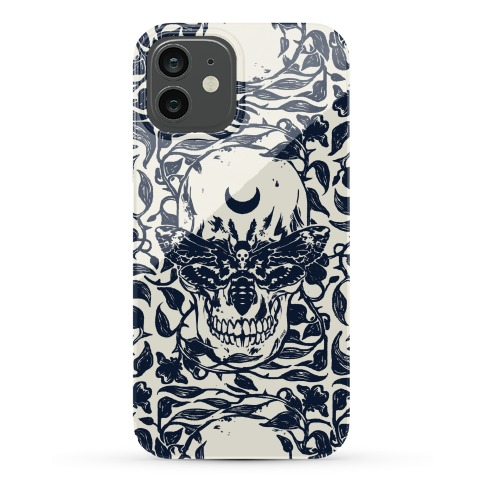 Skull Moth Phone Case