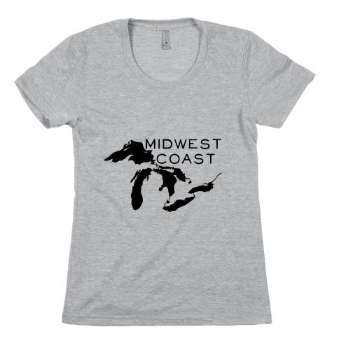 Midwest Coast Womens T-Shirt