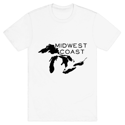 Midwest Coast Mens T-Shirt