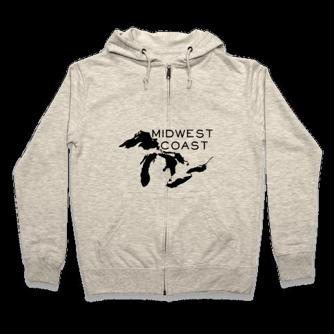 Midwest Coast Zip Hoodie