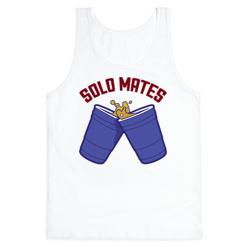 Solo Mates (Blue) Tank Top