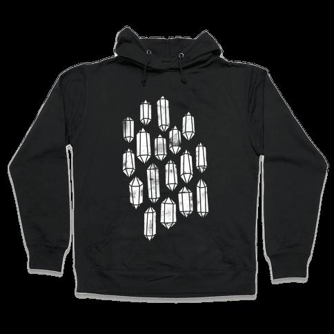 Crystal Collage Hooded Sweatshirt