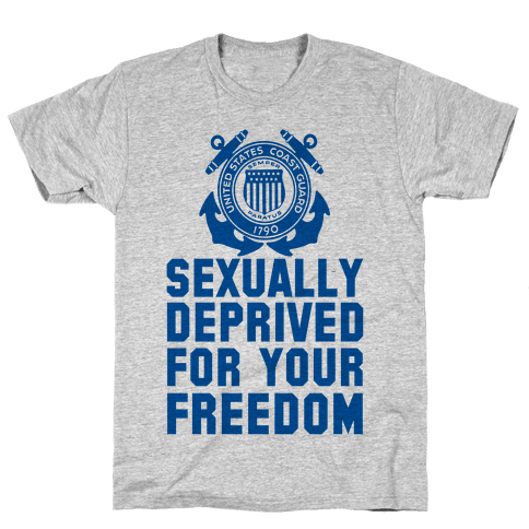 Sexually Deprived For Your Freedom (Coast Guard)