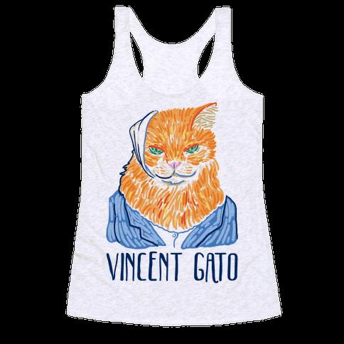 Vincent Gato  Racerback Tank Top