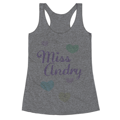 Miss Andry Racerback Tank Top