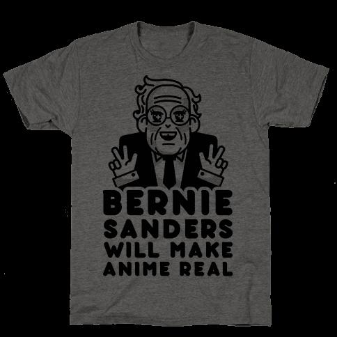 Bernie Sanders Will Make Anime Real
