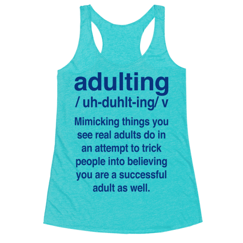 Adulting Definition