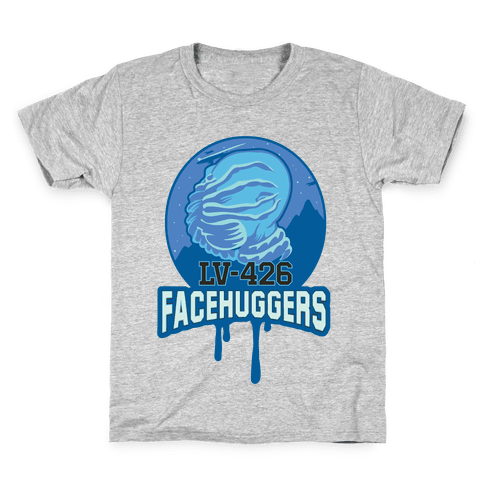 LV-426 Facehuggers Varsity Team Kids T-Shirt