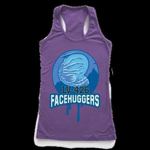 LV-426 Facehuggers Varsity Team Racerback Tank Top