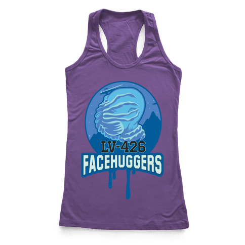 LV-426 Facehuggers Varsity Team Racerback Tank Top