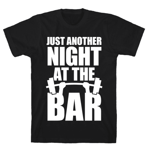 Just Another Night At The Bar Mens T-Shirt