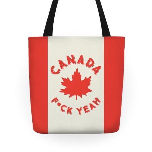 Canada F*ck Yeah Tote