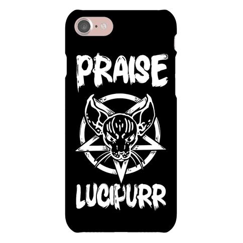 Praise Lucipurr Phone Case
