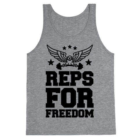 Reps For Freedom Tank Top