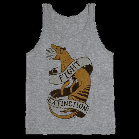 Fight Extinction Tank Top