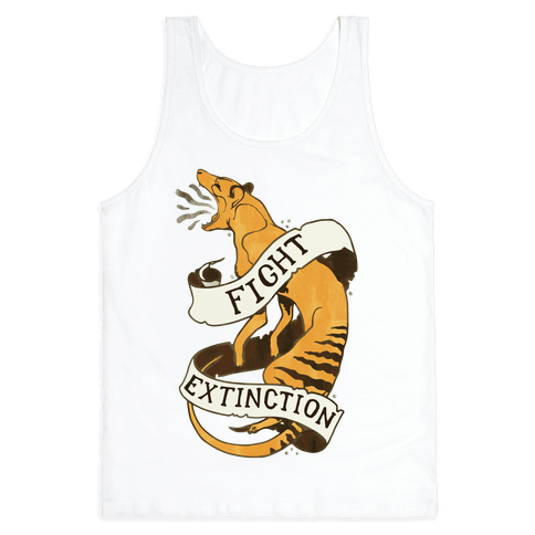 Fight Extinction Tank Top