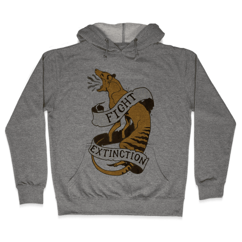Fight Extinction Hooded Sweatshirt