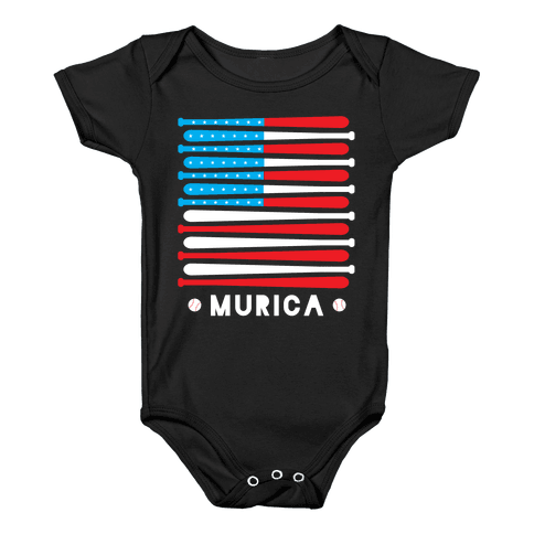 Great American Pastime Baby Onesy