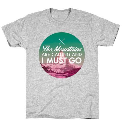 7c67e5373 Mountain Climbing T-Shirts | LookHUMAN