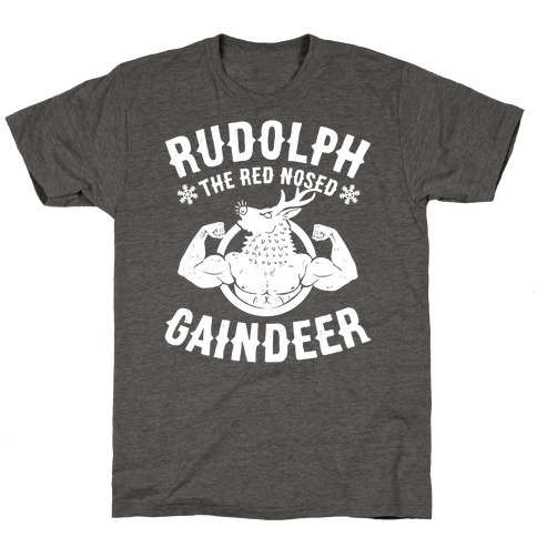 Rudolph The Red Nosed Gaindeer T-Shirt