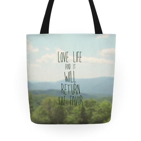Love Life Tote