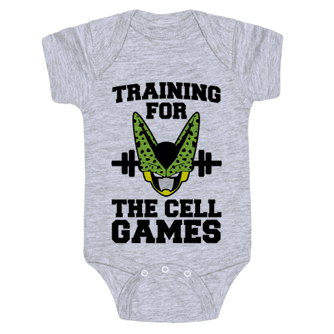 Training for the Cell Games Baby Onesy