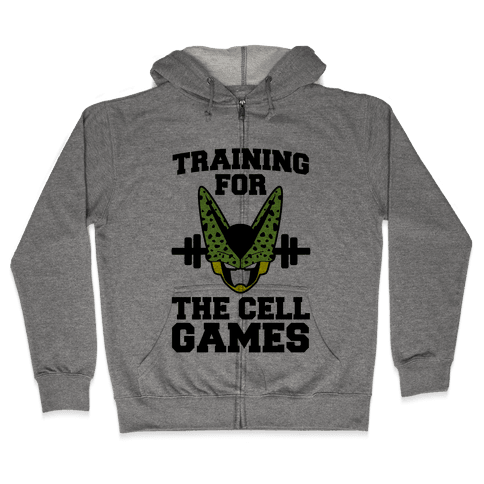 Training for the Cell Games Zip Hoodie