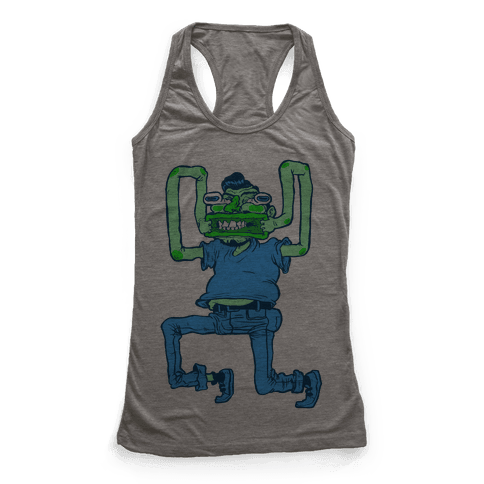 Butthole Mouth Racerback Tank Top