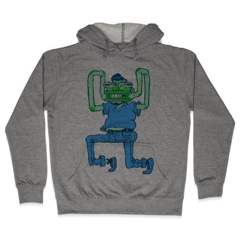 Butthole Mouth Hooded Sweatshirt
