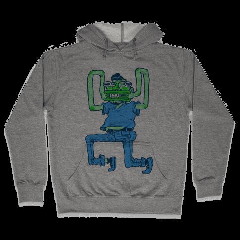 Butthole Mouth Hooded Sweatshirt