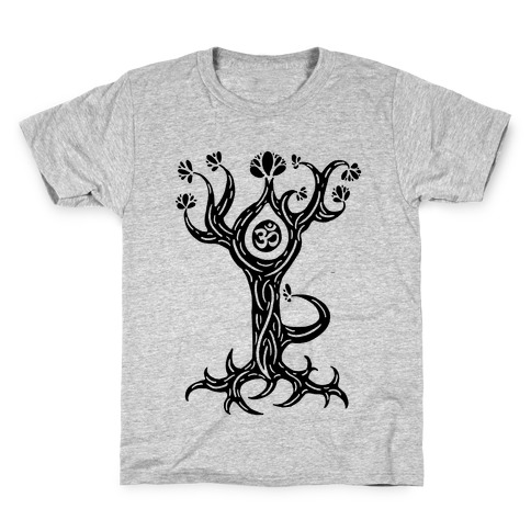 The Tree Pose Kids T-Shirt
