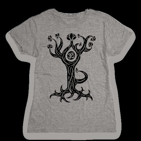The Tree Pose Womens T-Shirt
