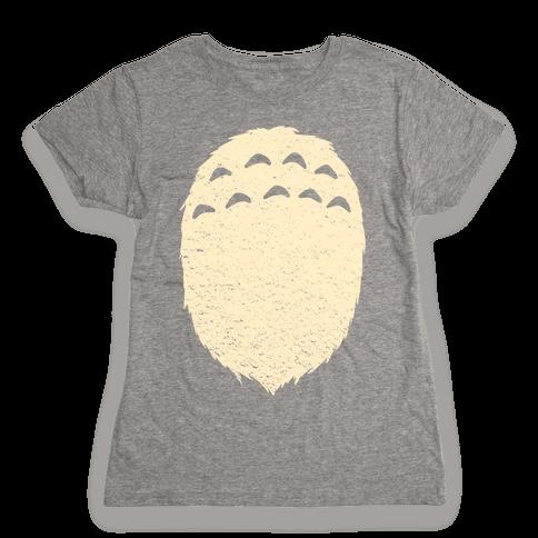 A Fuzzy Friend Womens T-Shirt